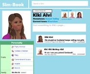 Simbook kiki page