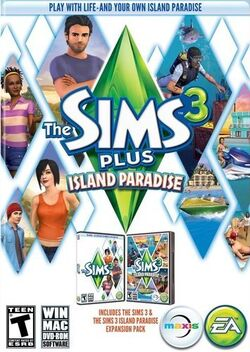 The Sims 3 Plus Island Paradise Cover