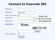 Irc help identify