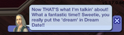 Dream date message