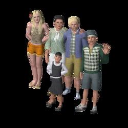 Langerak Family (The Sims 3)
