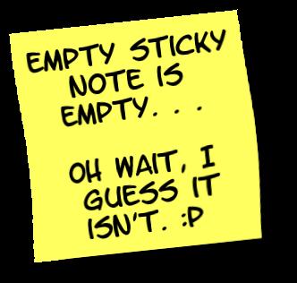 File:Sticky note - empty.png