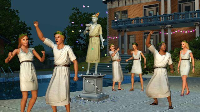 File:Sims greek party.jpg