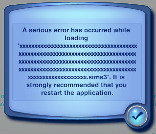 File:TS3 Load game filename error.png