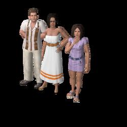 Alto family (Isla Paradiso)