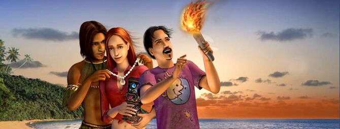 The Sims Castaway Stories banner