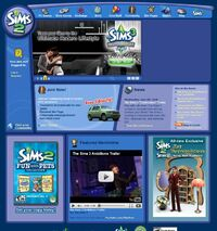 Website the sims 2