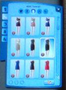 Clothes list