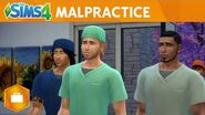 The Sims 4 Get to Work Malpractice