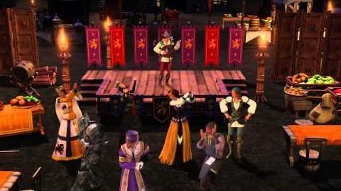 The Sims Medieval - Epic Trailer