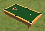 Ts2 corner pocket pool table