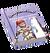 Book Skills Fishing Bait Purple