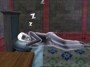 Ghost in Bed!