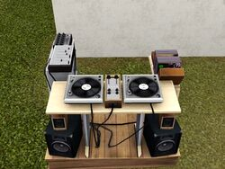 Old School DJ Booth