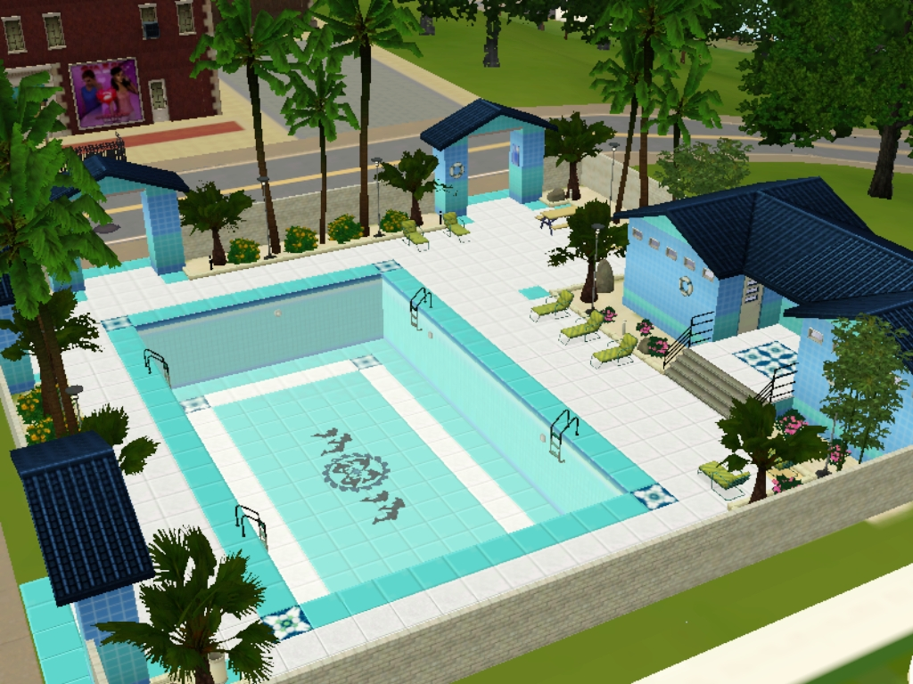 Piscina the sims wiki fandom powered by wikia for Piscina sims 4
