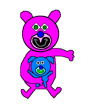 File:Magenta with sky blue puppy.png