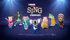 SING McDonald's Happy Meal toys (USA)