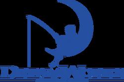 DreamWorks Animation SKG logo with fishing boy