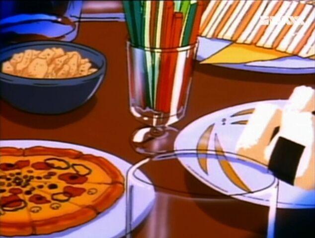 File:03012017 Detektiv Conan - Spiel mir das Lied vom Tod - Pizza & Chips & Onigiri.jpg