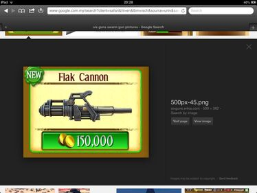 Tier 4 flak cannon