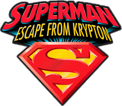 Superman Escape from Krypton logo