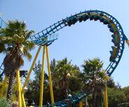Boomerang Coast to Coaster (Six Flags Discovery Kingdom)