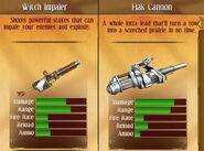 Fire flak canon ..