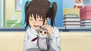Saaya and owl