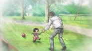 Dr. Tsubaki and lil Sasuke