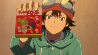 Bossun finds candy box