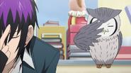 Hosuke imitating Dante