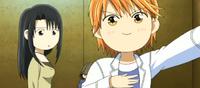Kanae and Chibi Kyoko