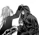 Setsu playing with cain