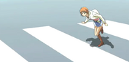 Normal kyoko walks