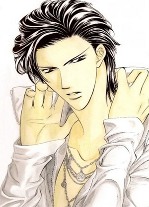 Ren Tsuruga in manga colored