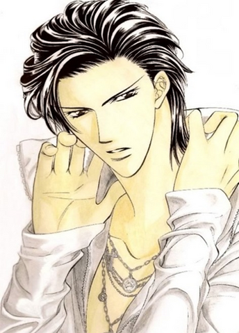 File:Ren Tsuruga in manga colored.png