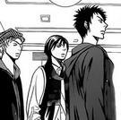 The cast amused at Chiori