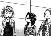 Chiori, yoshioko and kyoko chatting