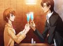 Ren and Kyoko toast