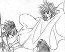 Jelly doing her magic on Kyoko