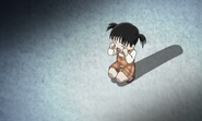 Little kyokochan crying