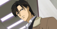 Ren tsuruga looks down ey