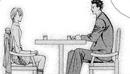 Sawara and Kyoko keeps talking