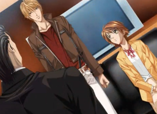 File:Sho and Kyoko with a certain man PS2 GAME.png