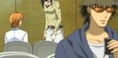Kurosaki listening to Kyoko and Kanae