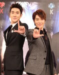 Donghae and siwon do the love me