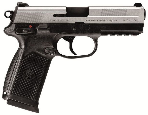 File:En1 fn fnx 45 with stainless steel slide-tfb.jpg