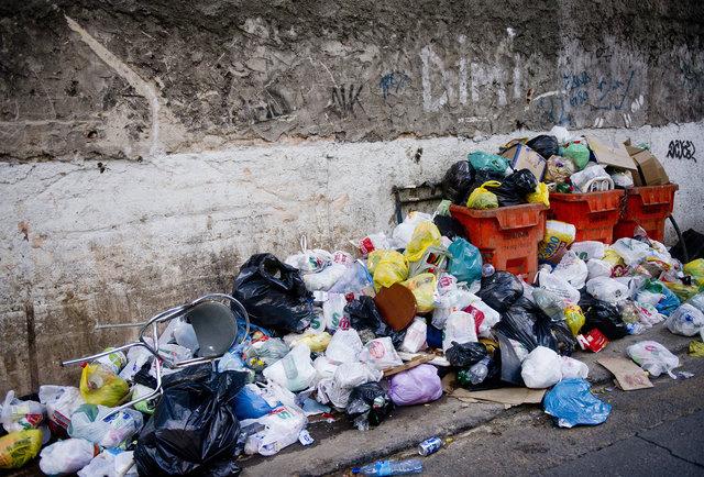 File:Rio de Janeiro street trash literal.jpeg