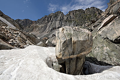 File:Intricate-rock-among-snow-sayan-mountains.siberia-thumb19362118.jpg
