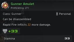 Gunner Amulet 271